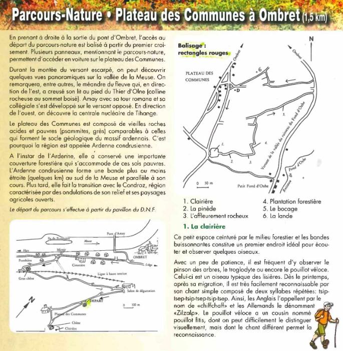 Parcours nature Ombret