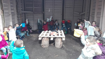 Ecole du dehors - Avril
