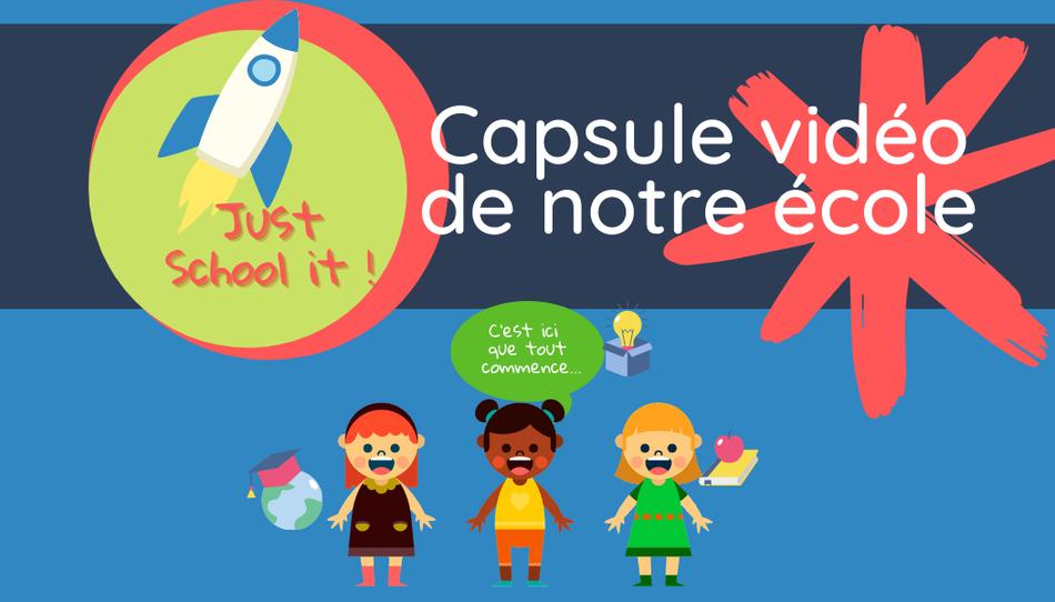 Banner  Capsule vidéo de notre école