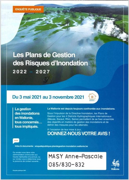 Affiche EP inondations 2022 - 2027